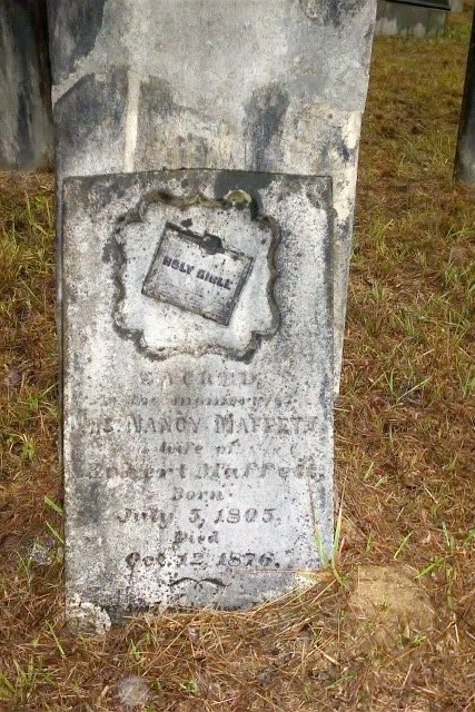 Headstone for Nancy Bowers
