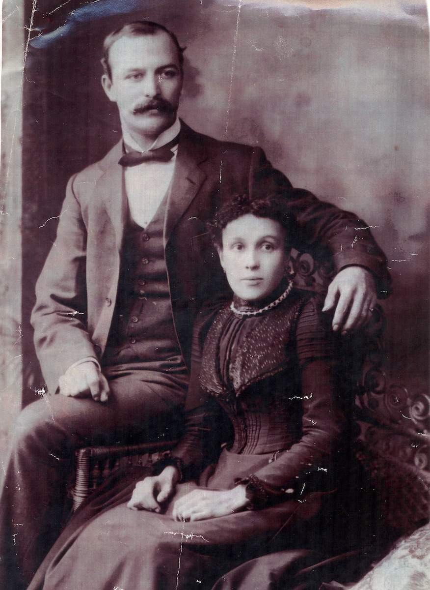 Charles A Moffatt and his wife Ada Trim