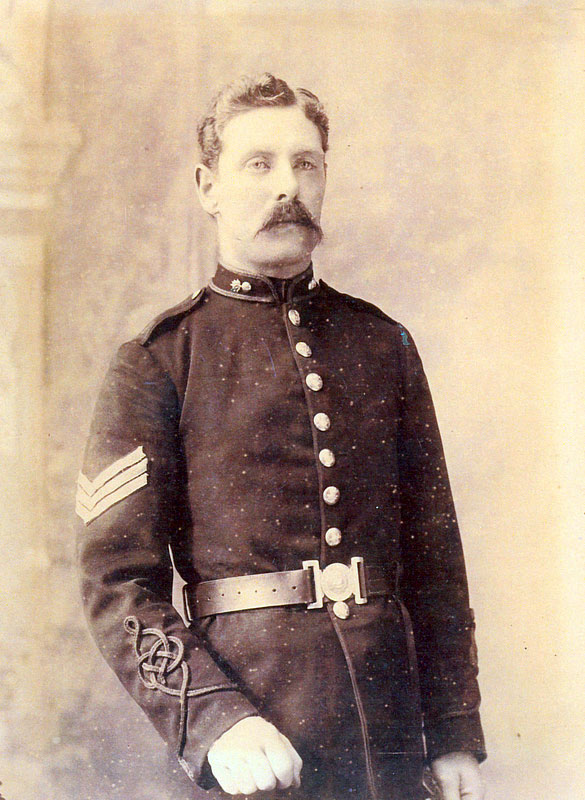 Alfred George Hawkesford in his Army Uniform